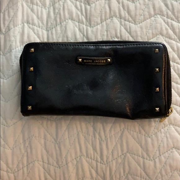 Marc Jacobs Handbags - Marc Jacobs Black Studded Wallet